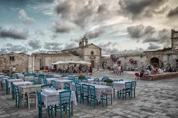 Marzamemi – Piazza Regina Margherita